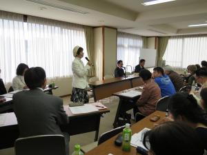 障害者の暮らしの場を考える会が県と懇談