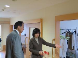 戸田市営住宅内の「ケアホーム下笹目」視察