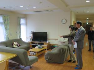 戸田市営住宅内の「ケアホーム下笹目」視察_2
