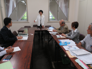 「埼玉の空を守れ」軍用機の飛行訓練問題で平和委員会が県と懇談