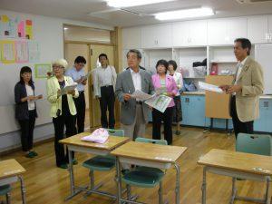 特別支援学校を視察_1