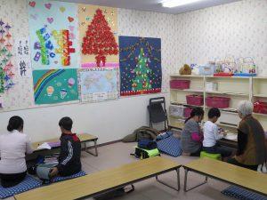 学習支援教室を視察