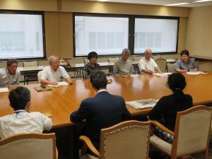 新たな工事は絶対認められない 違法土砂堆積問題(秩父市)で県交渉
