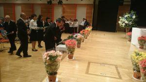 被ばく71年に誓うー第31回埼玉県原爆死没者慰霊式