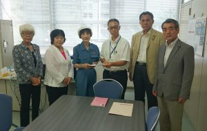台風9号による豪雨災害に関する緊急申し入れ(全文)