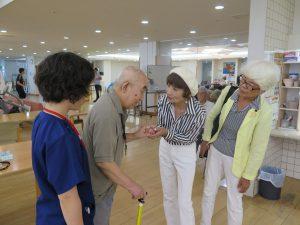 誰もが安心できる介護制度へー老人保健施設さんとめ視察