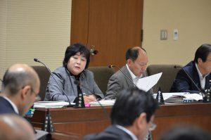 決算特別委員会、始まる 金子県議が質疑