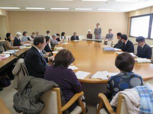 入所施設・グループホーム支援で県と団体が懇談