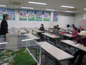 県環境整備センターと資源循環工場を視察