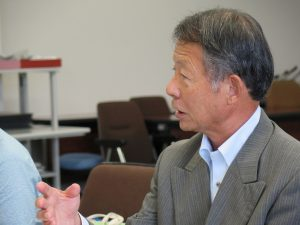市民の暮らしに寄り添った税金の徴収ー滋賀県野洲市長と懇談