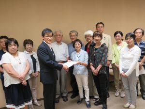 埼玉県平和委員会がオスプレイの飛行中止を県に要請