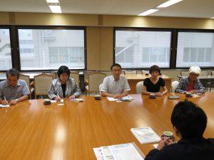 福島県避難者支援課職員からヒアリング