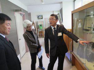 県内初のスポーツサイエンス科・ふじみ野高校を視察