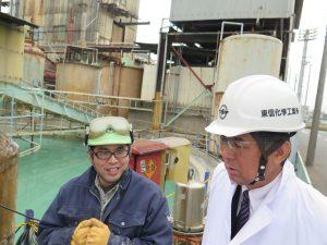 古綾瀬川(草加市)の魚大量死 原因の化学薬品工場を現地調査