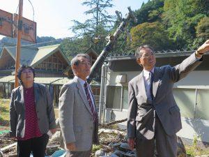 九州北部豪雨(朝倉市・東峰村)の被害について調査(九州災害視察2日目)