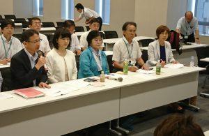 2019年度予算要望を各省庁へー柳下、村岡、金子県議が参加