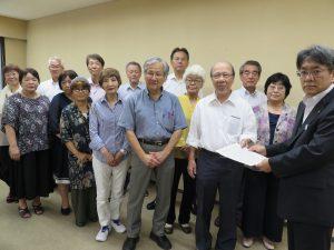 危険な埼玉の空をこれ以上野放しにできないー平和委員会、横田基地へのオスプレイ配備撤回を求める