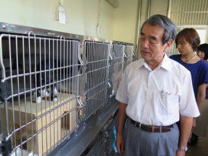 県動物指導センター視察