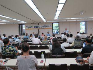 シンポジウムで埼玉県政のこれからを語り合う