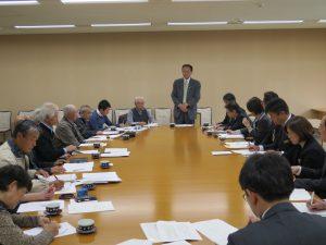 県農民連が農林部に予算要求 村岡県議同席