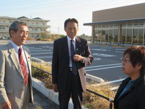 熊谷市の農転許可用地転売問題で現地調査