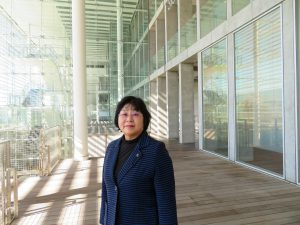 医療・福祉人材を輩出、埼玉県立大学を視察