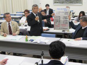 中小零細業者の暮らしが守られる、払える国保税を 埼商連が県と懇談