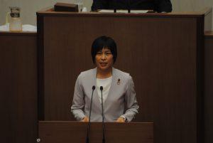 6月24日 秋山もえ県議の一般質問がおこなわれました