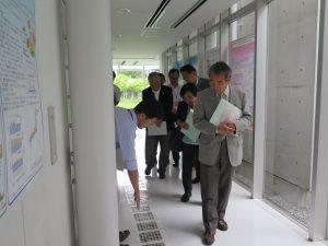 環境科学国際センター視察