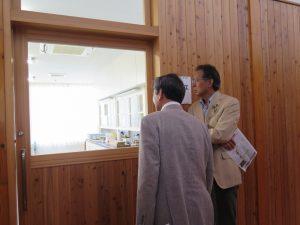 埼玉県農業大学校を視察