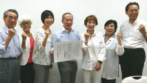 伊藤岳参議院議員が県議団を訪問