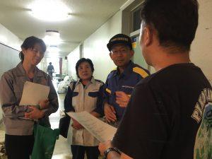 台風19号被災者支援②川越市で実態と要望の聞き取り