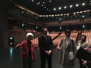 故蜷川幸雄さんが愛したさいたま芸術劇場を視察