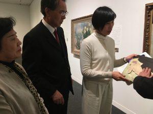 視覚障害がある方にも芸術を――埼玉県近代美術館視察