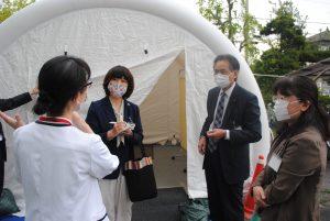 【新型コロナウイルス対策】防護服など資材不足――川口の病院訪問