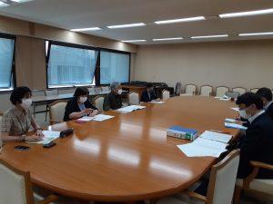 オスプレイ飛来情報を県HPにー埼玉県平和委員会が申し入れ