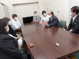 埼玉県立小児医療センターにマスク1000枚寄贈