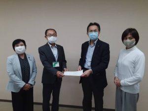 <新型コロナウイルス対策>福祉施設にマスク・消毒液を緊急に届けるよう申し入れ