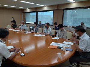 加治丘陵を守れ!-市民の会が「阿須山中有効活用事業」で県と懇談