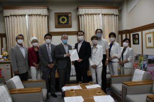 「新型コロナウイルス感染拡大を食い止めるためにPCR検査の抜本的拡大を」知事に申し入れ