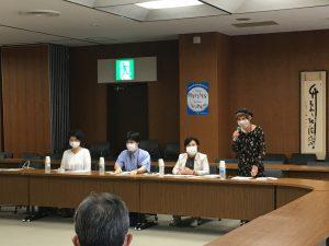 基幹病院としてコロナで奮闘する医療機関を守れー埼玉医科大学との懇談