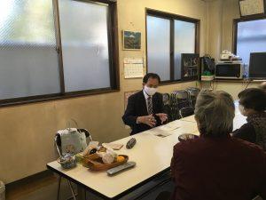 生活が苦しい人に寄り添った行政サービスを―川口生活と健康を守る会と懇談