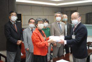 コロナ対策の強化を求める要望書を提出―埼玉革新懇