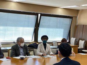 自衛隊・米軍感染把握をー平和委員会が県と懇談