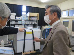 埼玉の畜産を病気から守る砦―中央家畜保健衛生所を視察