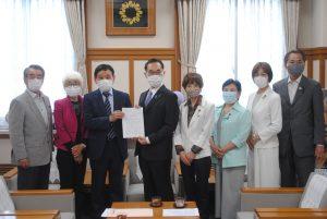 東京五輪とコロナ対策は並びたたないー知事に緊急要望