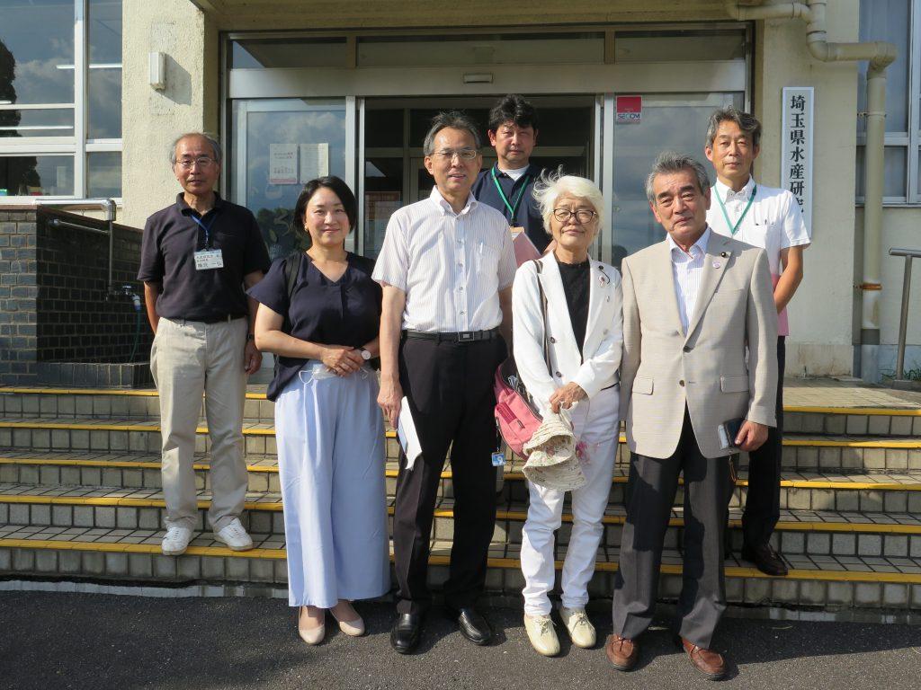 うるおいと豊かな川づくりに向けて 埼玉水産研究所