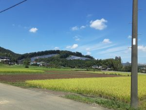 環境破壊招く小川町の太陽光発電施設視察
